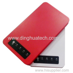 High quality Ultra-thin mobile power supply with single USB output