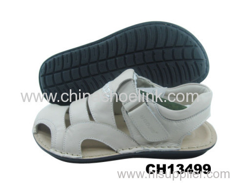 Best leather sandals men summer sandals supplier