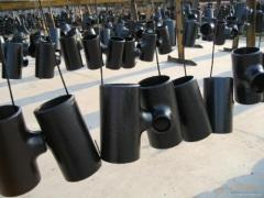 Asme B16.9 Butt Welding Carbon Steel Reducing Tee