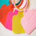hot for promotion colorful silicone luggage tag