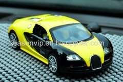 Bugatti Veyron metal car model air freshener with fragrance
