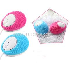 new design cute massage silicone cove case for mouse