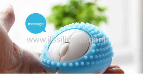 Funny Massage Cover for Mouse silicone cover case