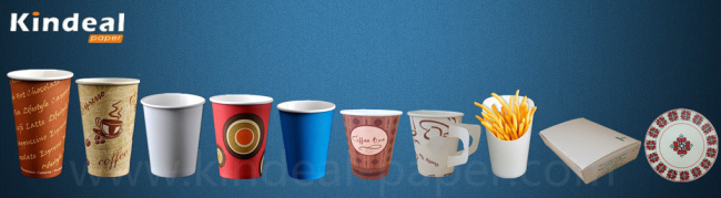 single pe coated paper for cups