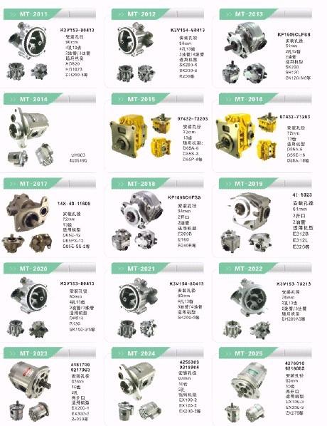 EX200-1 EX330-5 ZX330 GEAR PUMP ASSY