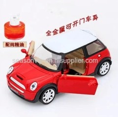 Mini Cooper metal car model air freshener