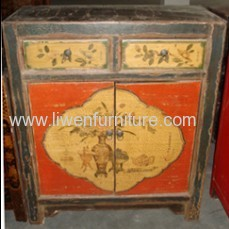 Antique Mongolia cabinet