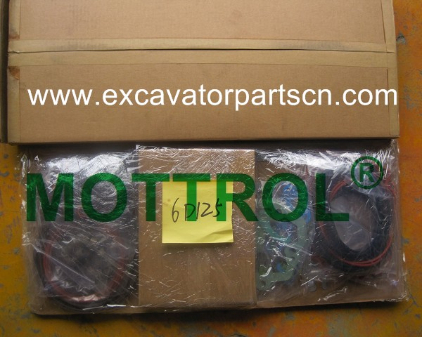 6D125 GASKET KIT FOR EXCAVATOR