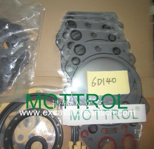 6D140 GASKET KIT FOR EXCAVATOR