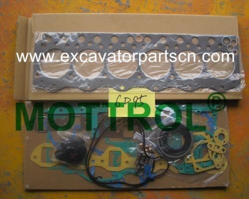 6D95 GASKET KIT FOR EXCAVATOR
