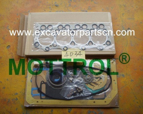 4D34 GASKET KIT FOR EXCAVATOR