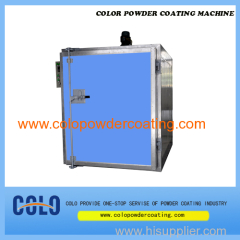 powder coating oven temperature