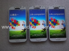 I9500 S4 1:1 Support air gestures 1GRAM 4GBROM MTK6577 MTK6589 Mobile phone 5.0-inch Quad core 1.2GB 3G android smartpho