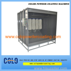 how to make a powder coating booth