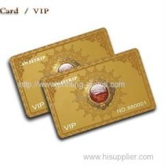 Thermal transfer film for member card