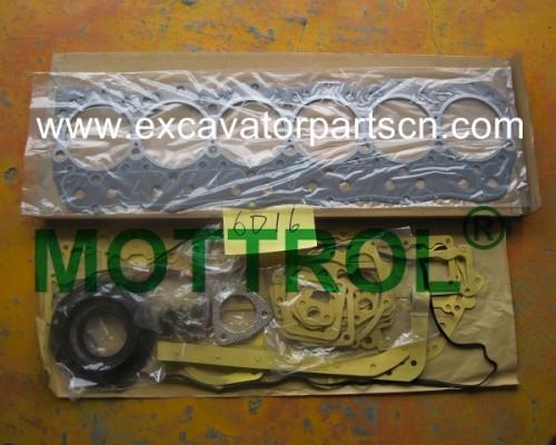6D16 GASKET KIT FOR EXCAVATOR