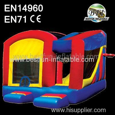 Funny Inflatable Slide Castle House