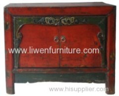 Old furniture Mongolia cabinet