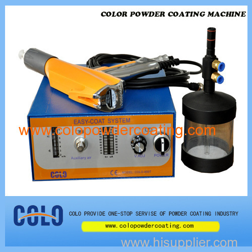 simple powder coating machine