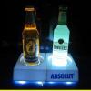LED acrylic wine holder display