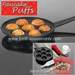 Pan Poffertjes Dutch Pancake Pan Puffs Mini Small Balls Crepe Panekoken Takoyaki