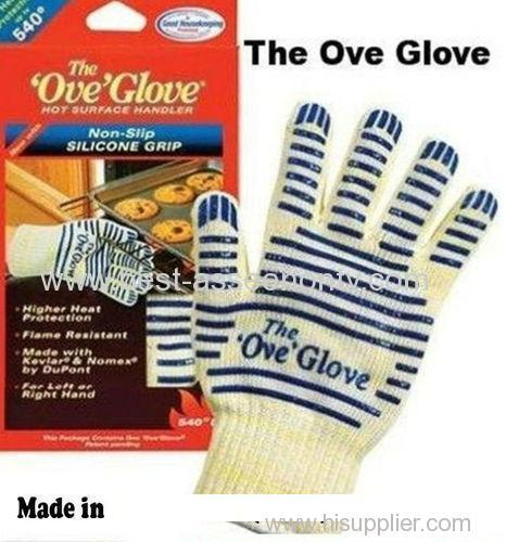2 HEAT PROOF OVEN MITT THE OVE GLOVE 540°F