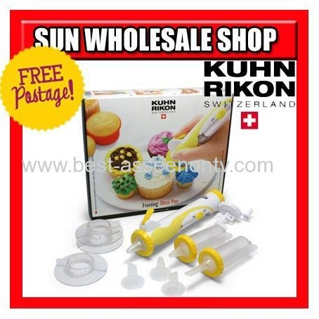 KUHN RIKON SWITZERLAND FROSTING DECO PENMESS FREE BATTERY POWERED GREAT