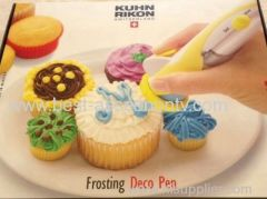 KUHN RIKON SWITZERLAND FROSTING DECO PEN MESS FREE BATTERY POWERED GREAT