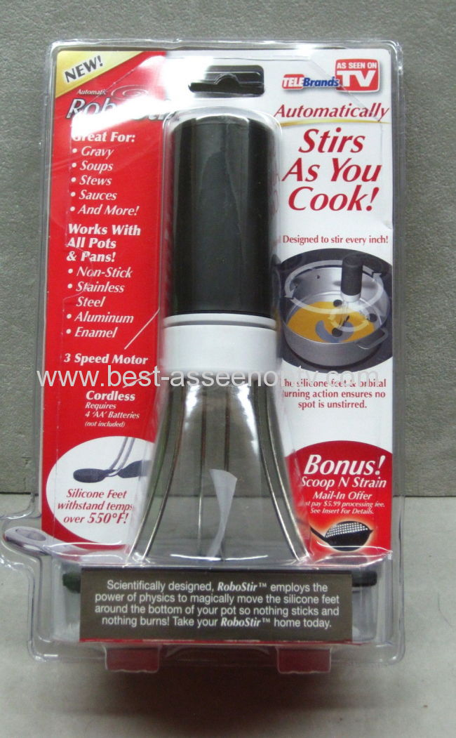 NEW Robostir Automatically Stirs As Seen On TV Kitchen Utensil