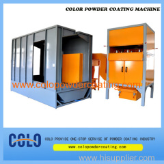 colo-Magic powder coating booth