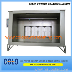 manual powder coating booths in China