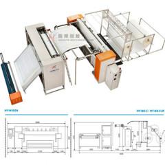 Multi-functional single needle quilting machine