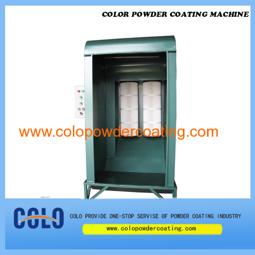 colo-s2152 SMART Lab-Style powder coating booth