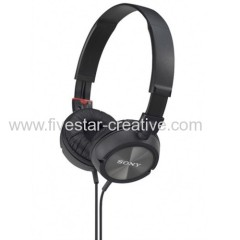 Sony MDR-ZX300 Stereo Overhead Headphone Black