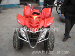 230CC 4 - Stroke Red ATV karting 4x4 go cart With Single Cylinder