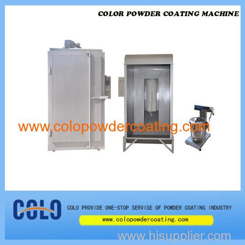 colo powder coating machine