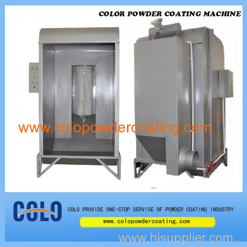 small powder coating chamber