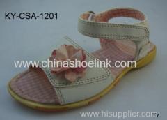 Girl pink summer sandals