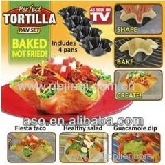 Perfect Tortilla Pan/Perfect Tortilla Pan Set as seen on TV