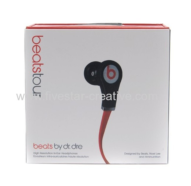 Beats by Dr.Dre Tour High-Resolution In Ear Headphones Black