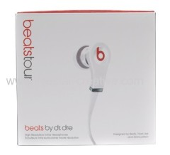 Nieuwe 2013 Beats Version Beats door Dr.Dre Tour In Ear Earphones Hoofdtelefoons Wit