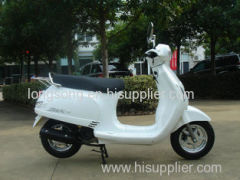 2000W White Gas Powered Motor Scooters , Electric Scooter Piaggio Vespa 125