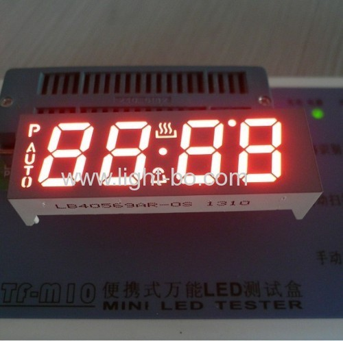 7 segment led display,4 digit 0.56anode blue for multifunction digital oven timers