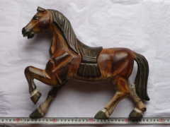 Horse Design Wood Carvings