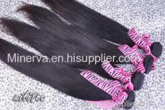 human hair weave straight