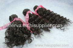 brazilian virgin hair deep wave 3 pcs lot