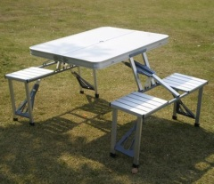 Folding Table/Camping Table/Picnic Table Aluminium Portable Camping Table foldable table