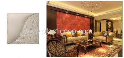 Leater wall panel with great design