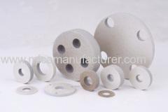 phlogopite and muscivite rigid mica part machined by CNC