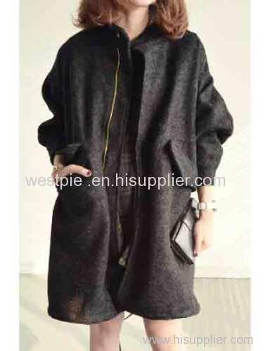 Womens Winter Woolen Coat Fleece Liner